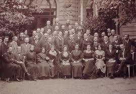 Asistentes al Congreso de Weimar